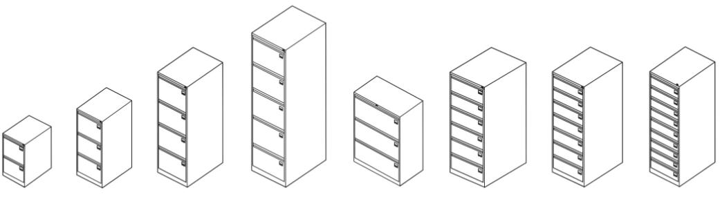 Картотечные металлические шкафы купить